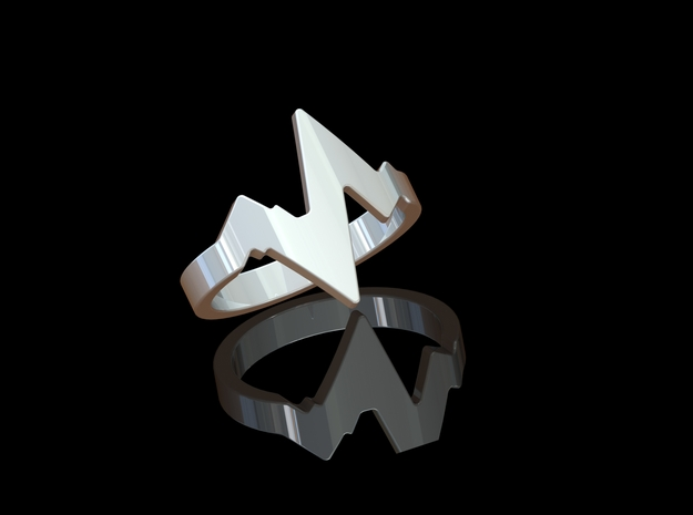 'BEAT' - Ø 17 in Polished Silver