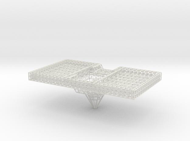 Stern Platform Lower Single Unit V0.3 (repaired) in White Natural Versatile Plastic
