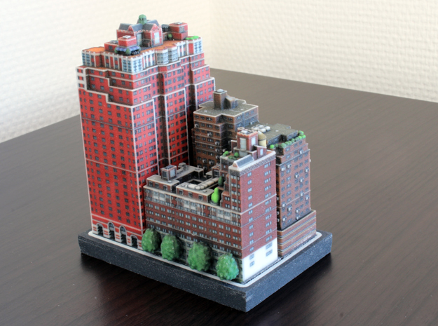 New York set 3 Tudor City 3 x 4