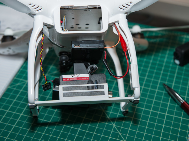 UAV Locator Holder for DJI Phantom