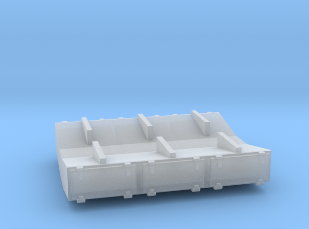 PRR 2¼ ton Ice Bunker/Sump (1/160) in Frosted Ultra Detail