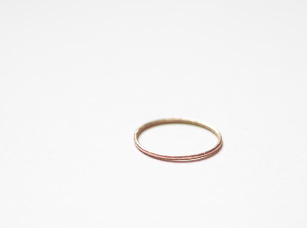 "Ring ""Solo"" / size 7.5 in Natural Bronze"