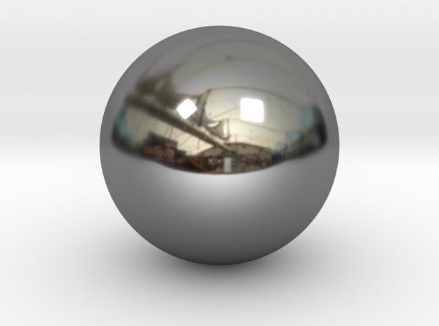 Precious metal sphere