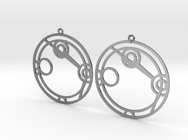Angelina - Earrings - Series 1 in Premium Silver