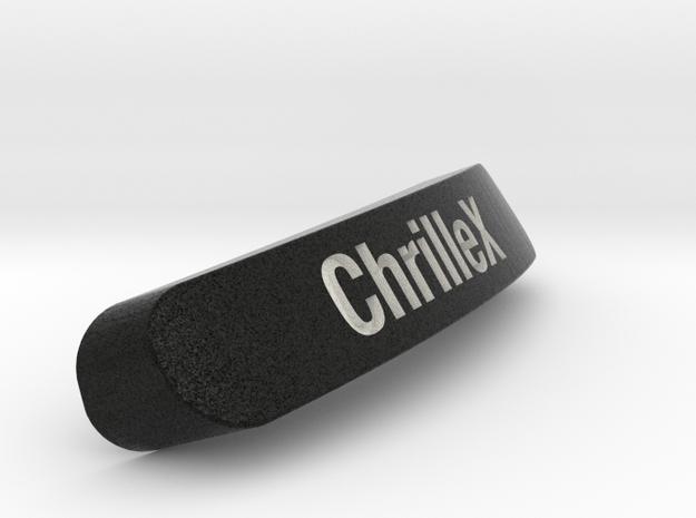 ChrilleX Nameplate for SteelSeries Rival in Full Color Sandstone