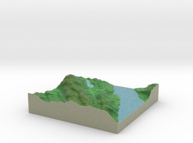 Terrafab generated model Mon Dec 29 2014 18:10:16  in Full Color Sandstone