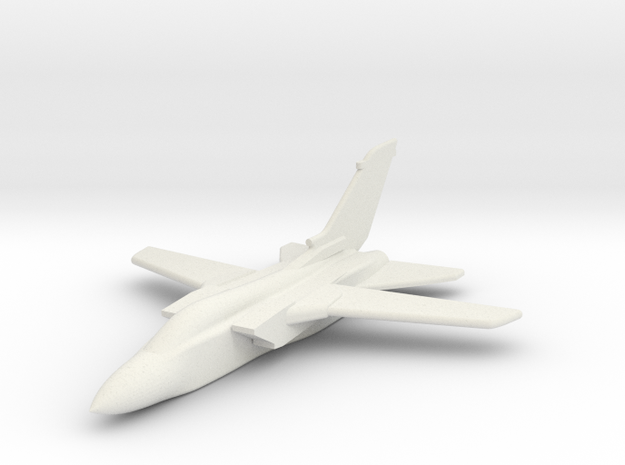 Tornado GR1 Multi-Role Jet 1/285 scale in White Natural Versatile Plastic