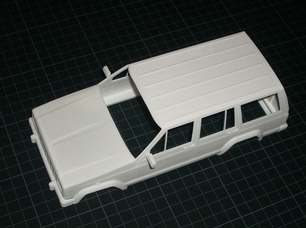 JeepCherokee 1:20 in White Strong & Flexible
