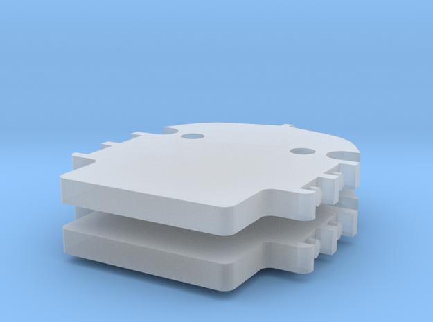 Zusatzgewicht Haken für LR 1600/2 Herpa 2-fach in Smooth Fine Detail Plastic