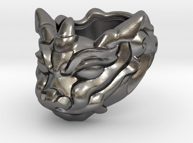 "Fu Dog (Komainu) ""um"" Ring"