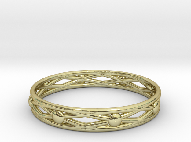 Normal ring(size = USA 5.5) in 18k Gold