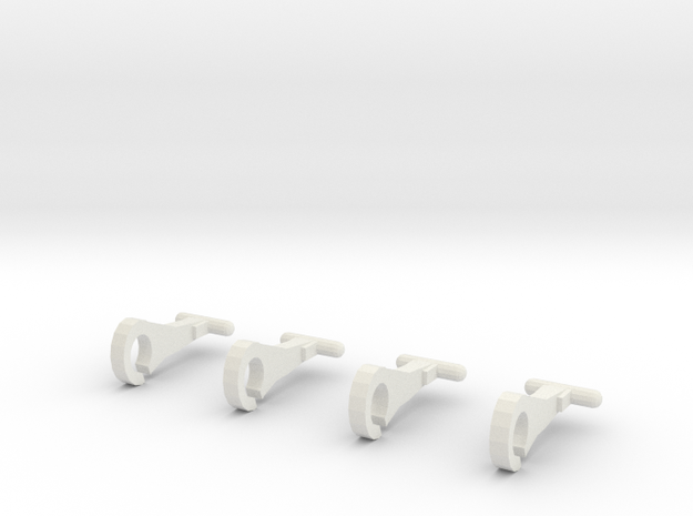 Thomas train hooks (set of 4) 3d printed