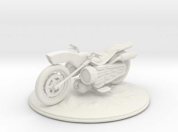 Object of Bike Lv2 in White Natural Versatile Plastic