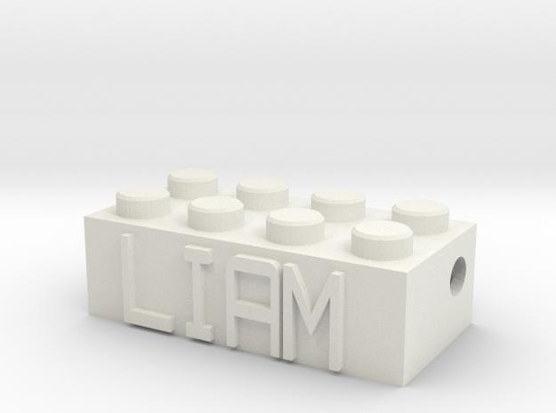 LIAM in White Natural Versatile Plastic