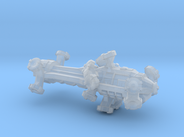 Digitorium Warp Bubble Assault Frigate in Smooth Fine Detail Plastic