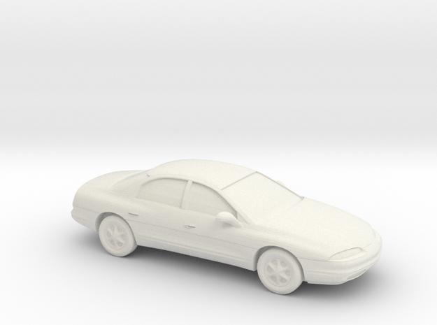 1/87 1995-99 Oldsmobile Aurora in White Natural Versatile Plastic