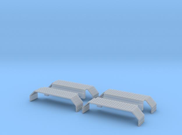 Kotflügel mit Riffelblech für Herpa Zetros  2Stück in Smooth Fine Detail Plastic