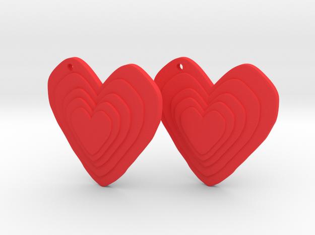 Multiheart in Red Processed Versatile Plastic