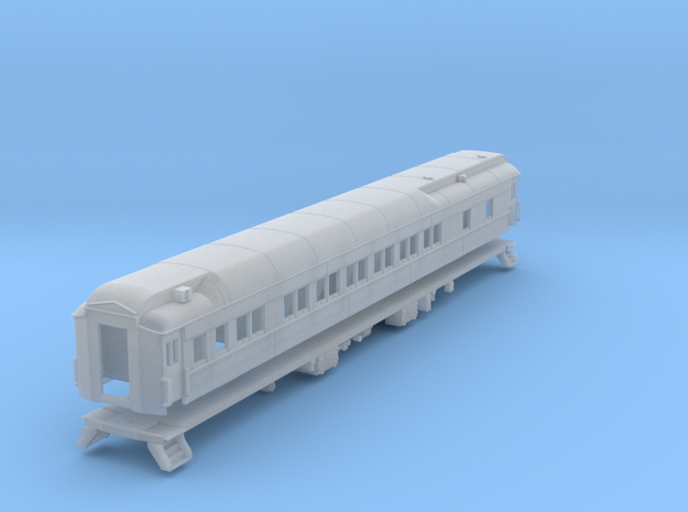 Pullman 12-1 sleeping car, plan 3410 (1/160) in Frosted Ultra Detail