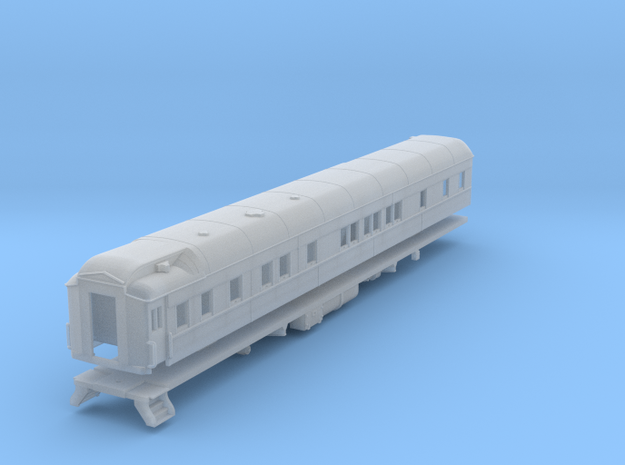 Pullman 6-6 sleeping car, plan 4084 (1/160) in Frosted Ultra Detail