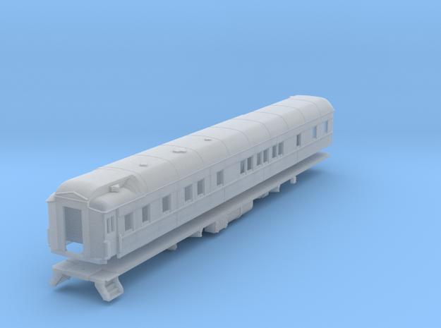 Pullman 6-6 sleeping car, plan 4084 (1/160) in Smooth Fine Detail Plastic
