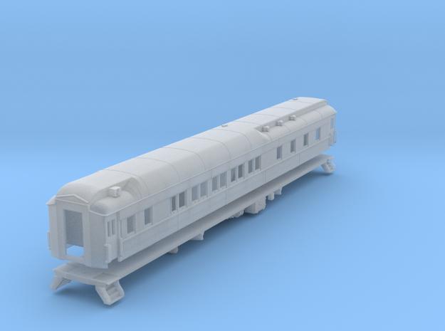 Pullman 10-1-2 sleeping car, plan 3585 (1/160) in Smooth Fine Detail Plastic