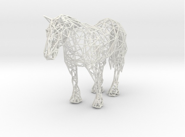 Wireframe Horse