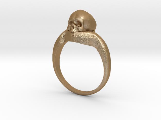 150109 Skull Ring 1 Size 9