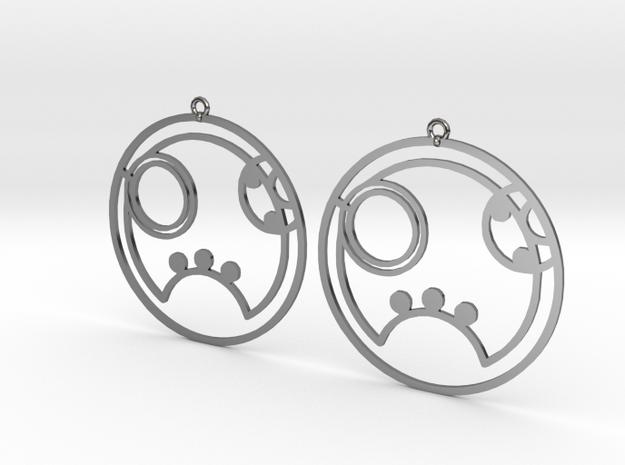 Ryann - Earrings - Series 1 in Premium Silver