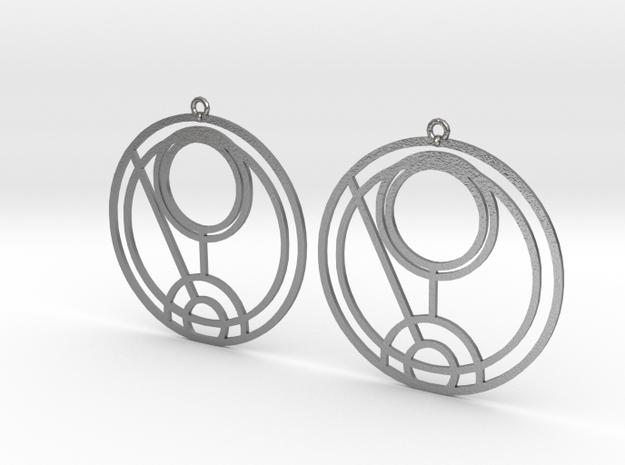 Quinn - Earrings - Series 1 in Raw Silver