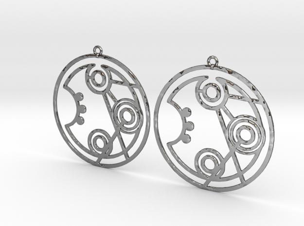 Jennifer - Earrings - Series 1 in Premium Silver