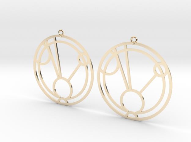 Faith - Earrings - Series 1 in 14K Yellow Gold
