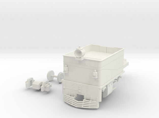 G42 Rear Unit(O/1:48 Scale) in White Natural Versatile Plastic