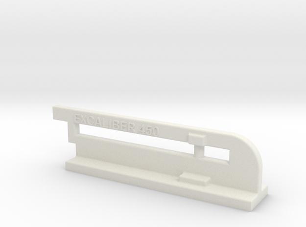Sinclair Transit Antenna in White Natural Versatile Plastic