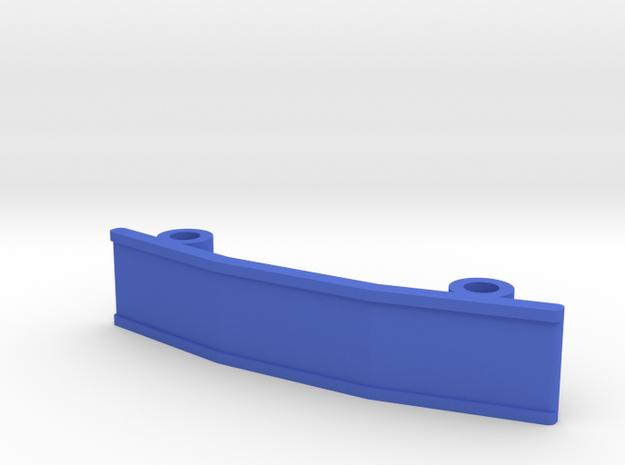 ZMR250 Bumper V2 in Blue Strong & Flexible Polished