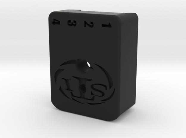 Kevin Baseplate Custom in Black Natural Versatile Plastic