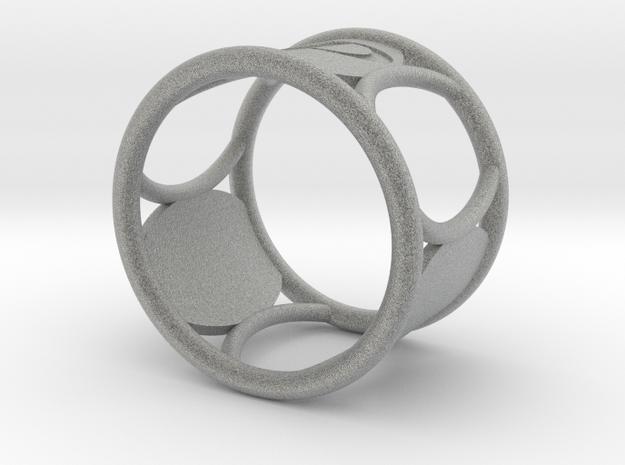 P NapkinRing in Metallic Plastic