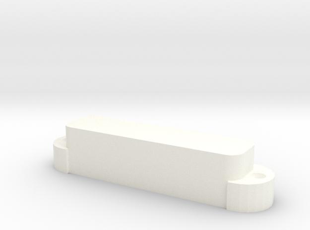 Jaguar Covers (no holes) in White Processed Versatile Plastic
