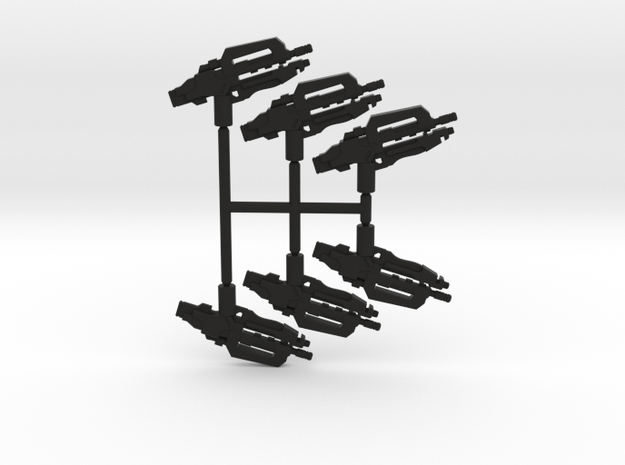 Heavy Carbine Pack in Black Strong & Flexible