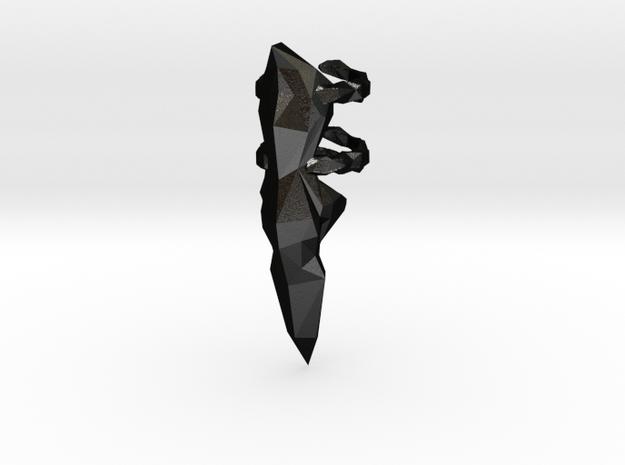 Clow2cyber in Matte Black Steel