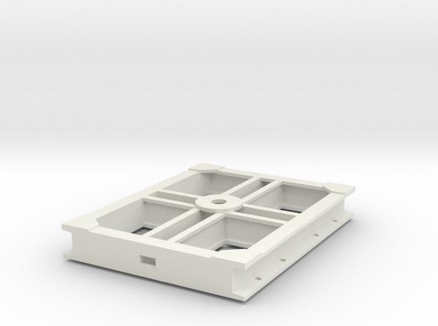 GN 15 Unterwagen / Boogie in White Natural Versatile Plastic