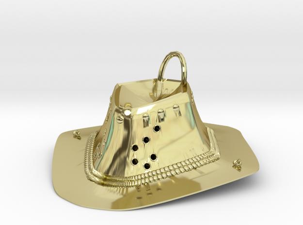 Cowboy hat in 18k Gold