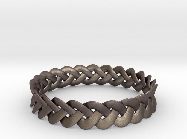 Tapered Celtic Bracelet 3d printed