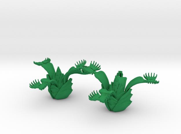 Fleischfresendepflanze 01 in Green Processed Versatile Plastic