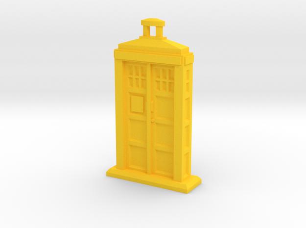 Police Box pendant 3d printed