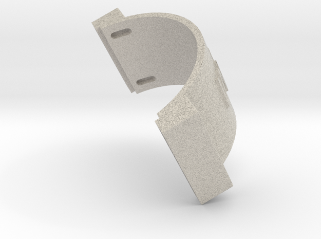 CONCEPT 3.2- BACK HEAD in Natural Sandstone