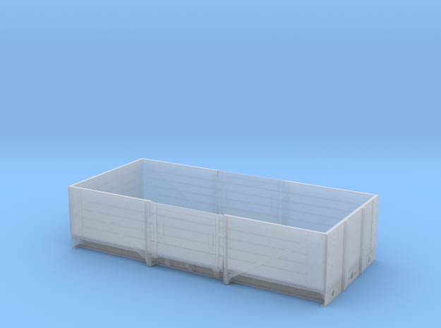OO scale LMS  13 Ton high sided goods wagon 3d printed