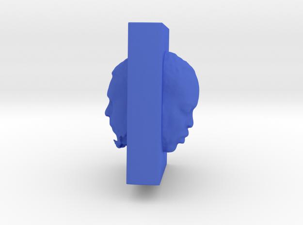 Past, present,future in Blue Processed Versatile Plastic