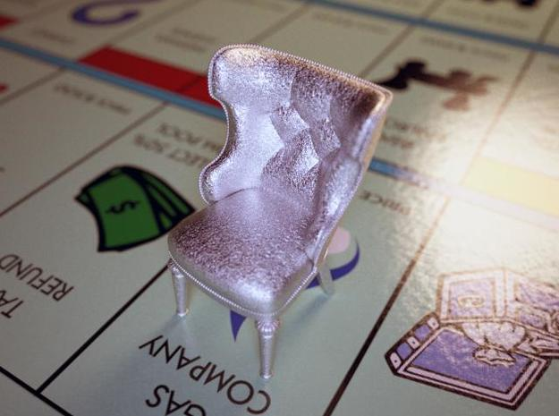 Monopoly Chair in Stainless Steel