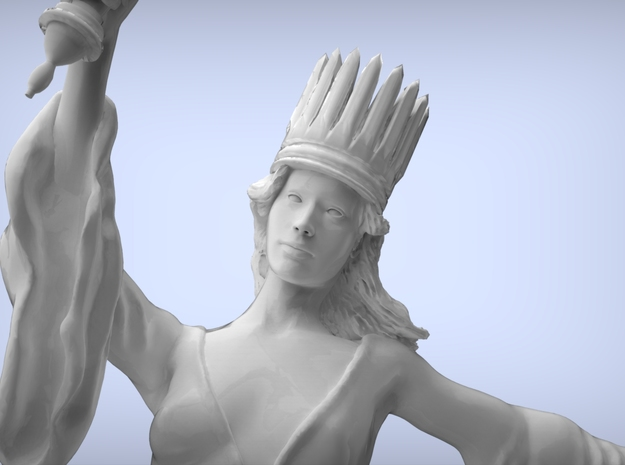 Liberty Statue (large) 3d printed